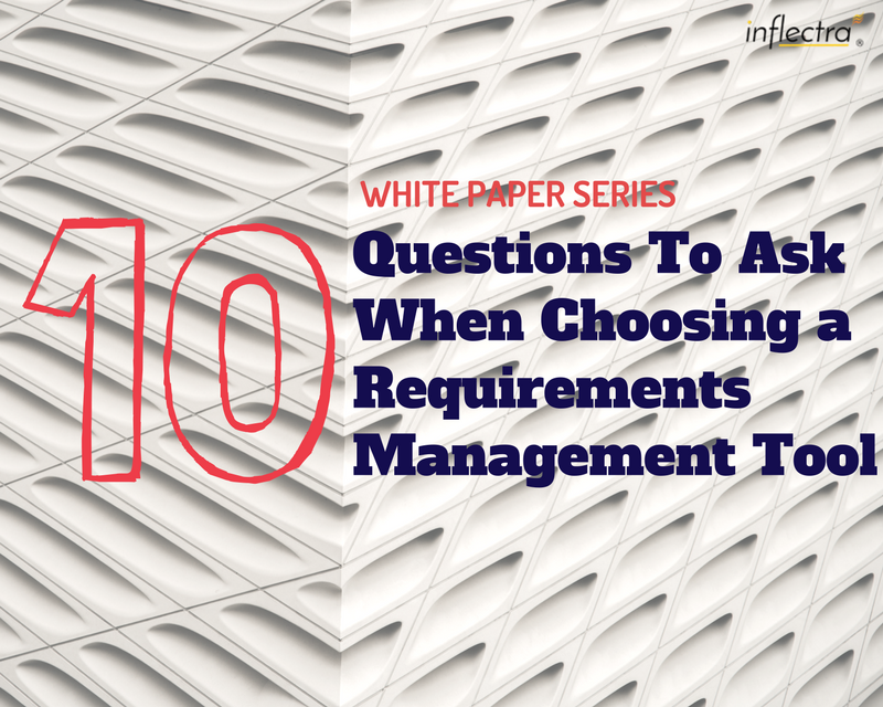 If you are looking for a requirements management tool, you probably don't need to be told how important requirements management is. There are a number of standard questions to be asked when selecting any software product for your organization. This whitepaper primarily addresses questions that are specifically applicable to choosing a requirements management tool.