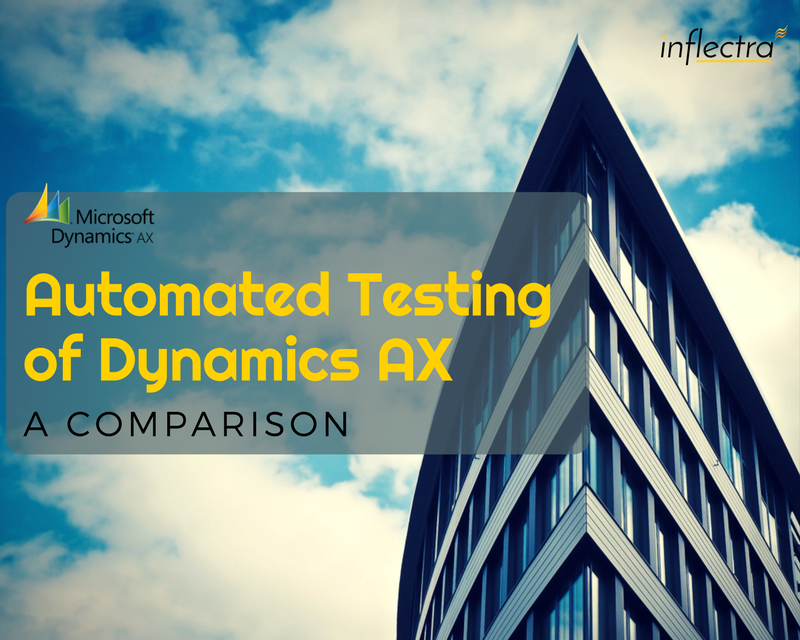 This whitepaper is from an independent programmer, who was reviewing test automation tools as a proof-of-concept in the acquisition of automated UI testing software for Microsoft Dynamics AX in the context of a government procurement decision-making process. The review focused on three top tools: Visual Studio Coded UI, Rapise and AXeptance and compared them.