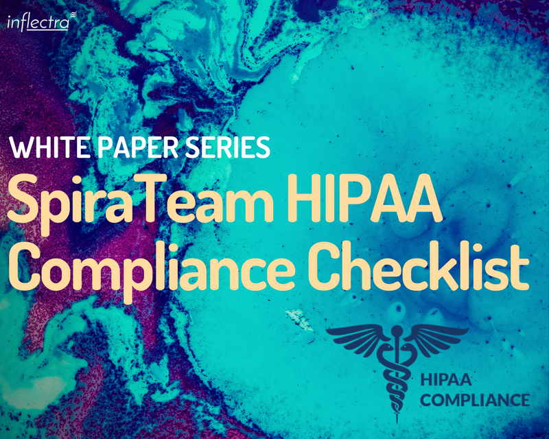 If you are choosing an Application Lifecycle Management (ALM) solution in the Healthcare industry, if you are a 'covered entity' an absolute requirement is to make sure the software you choose is HIPAA compliant.  Read on to find out how SpiraTeam is HIPAA compliant and use this checklist as a guide to ensure that you have implement SpiraTeam in a HIPAA compliant manner.