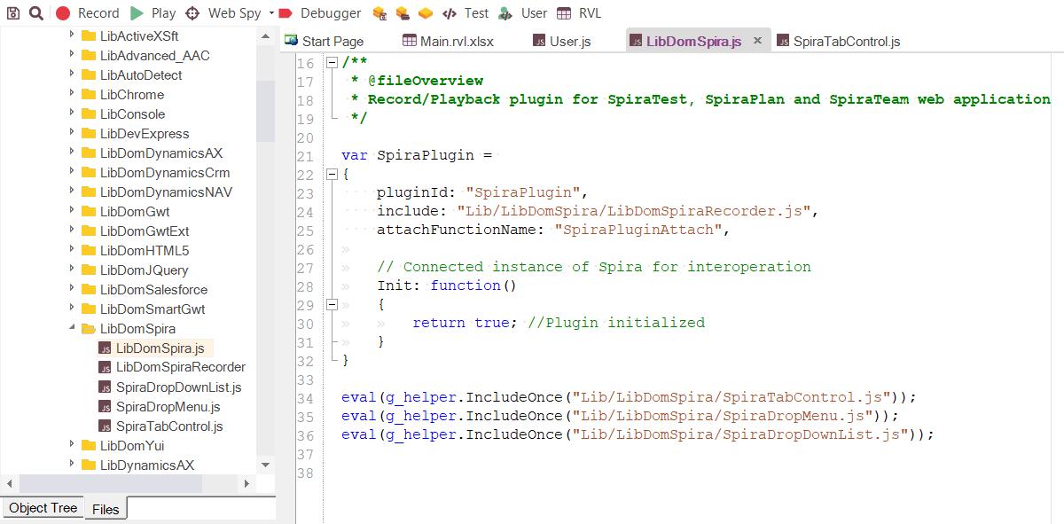 Extensible Scripting Engine | Test Automation Features | Rapise