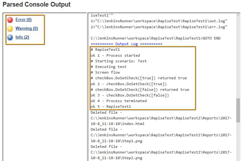 Jenkins CI Integration | Test Automation Features | Rapise
