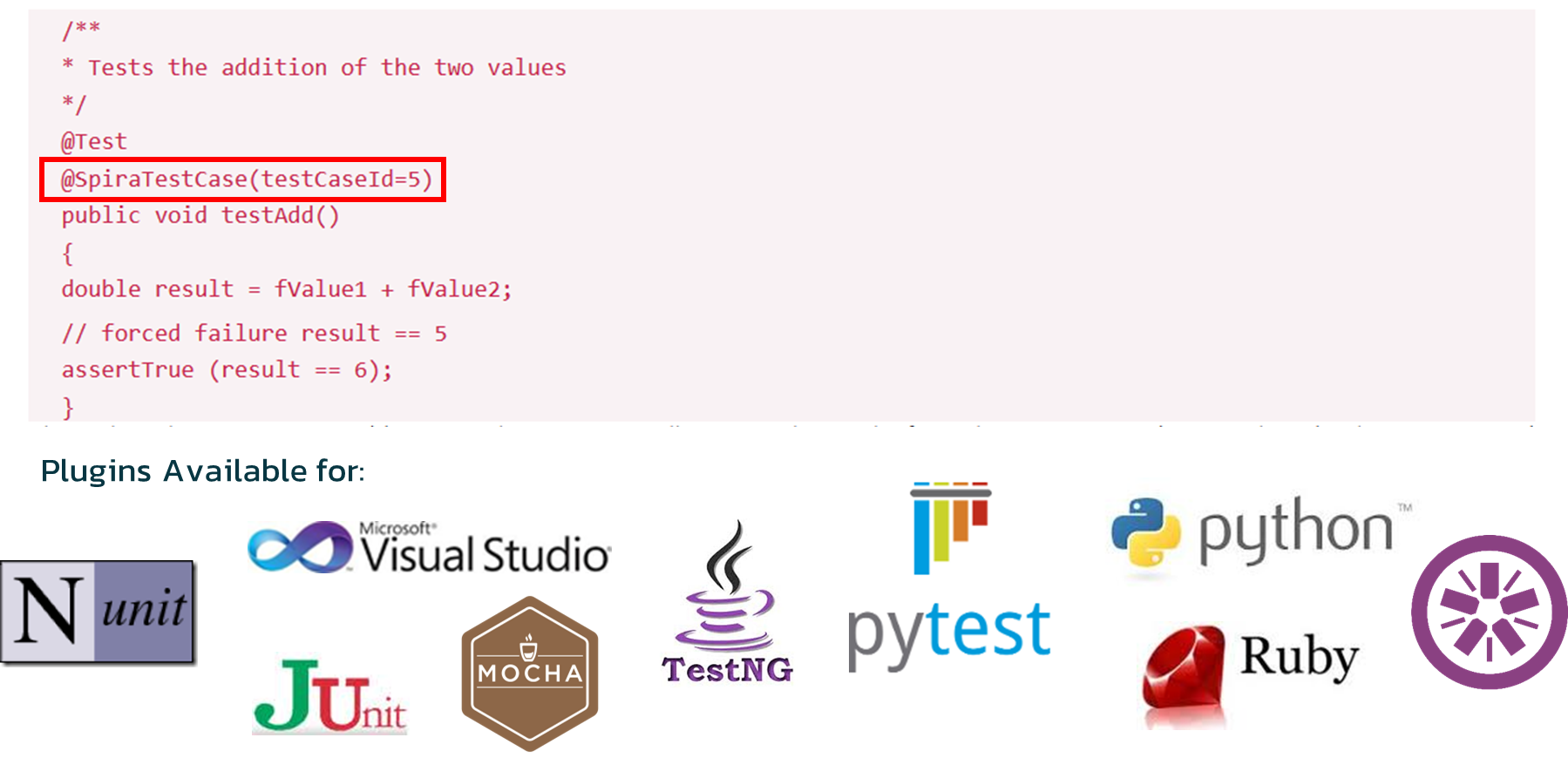 Each Module Function Is Tested By A Specific Unit Test Fixture Written In The Same Programming Language As