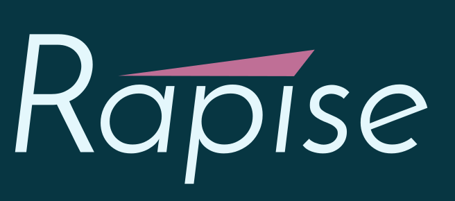 Rapise Logo, Light, Dark Background