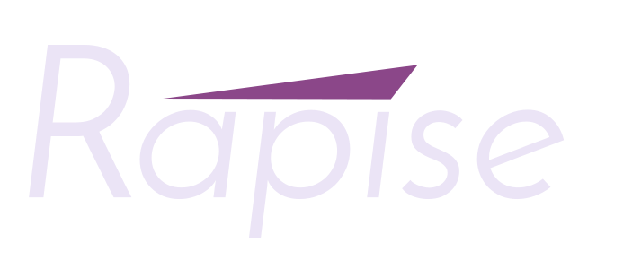 Rapise Logo, Light, Transparent