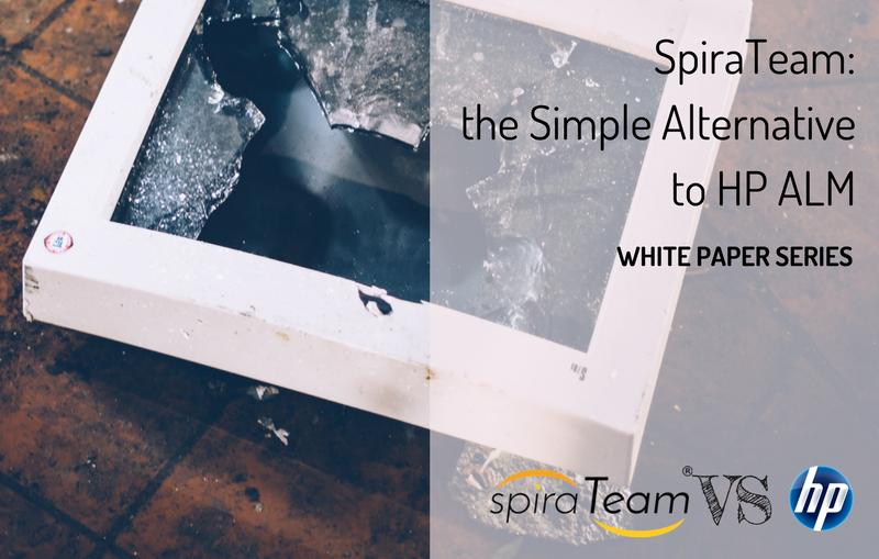 SpiraTeam, the Simple Alternative to HP ALM