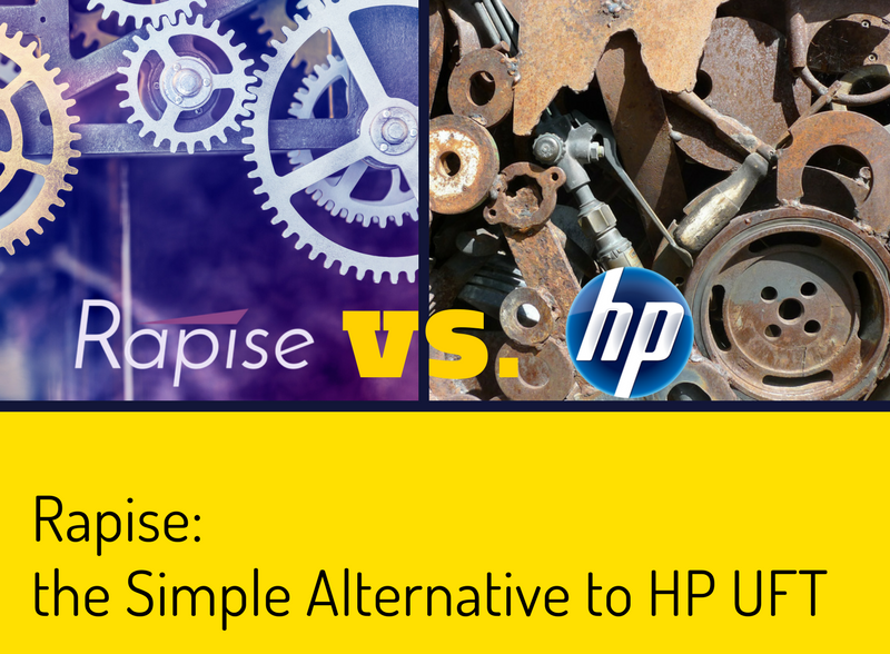 Rapise, the Simple Alternative to HP UFT