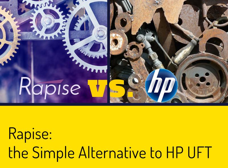 Rapise, the Simple Alternative to HP UFT