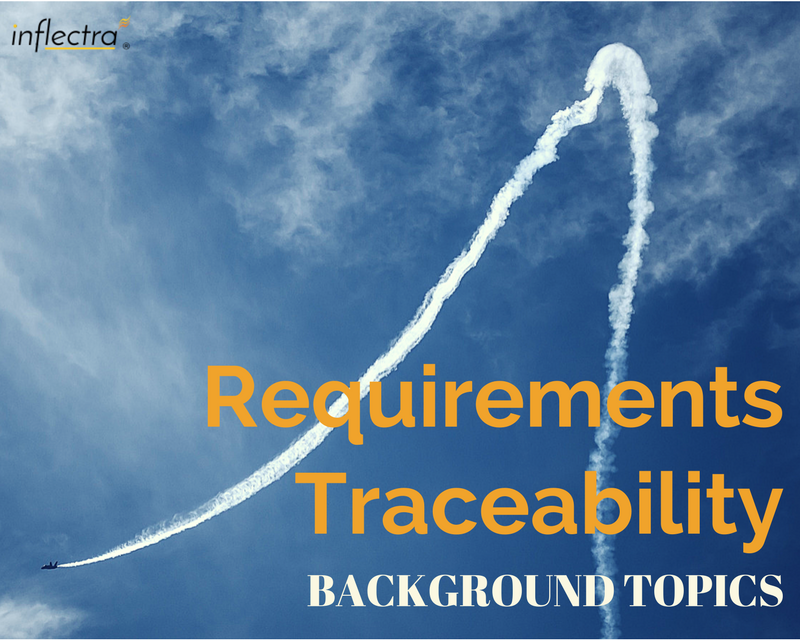 Requirements traceability refers to the ability to describe and follow the life of a requirement, in both forwards and backwards direction - from its origins, through its development and specification, to its subsequent deployment and use.