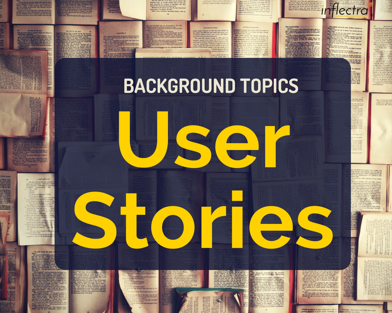 A user story is a form of software system requirement that has become quite popular in Agile Methodologies such as Extreme Programming and Scrum. Unlike more traditional methods such as a System Requirements Specification or Use Case Diagrams, the emphasis in these methodologies is simplicity and changeability.