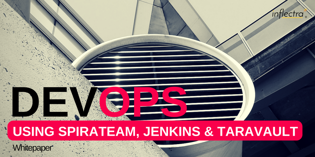 In this whitepaper we will be discussing some best practices and lessons learned about how to implement DevOps (Development + Operations) using the Inflectra platform in conjunction with other tools such as Jenkins. This is based on some experiences we've had internally implementing DevOps in the past 2-3 years as well as feedback and suggestions from our customers.