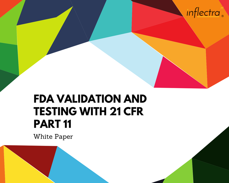 When developing medical devices or information systems, you need to ensure that the testing and validation procedures meet the requirements of the FDA / EMA and specifically 21 CFR Part 11. Inflectra provides the capability for managing your testing and compliance activities to meet these requirements.
