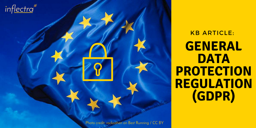 The EU General Data Protection Regulation (GDPR) strengthens the rights that individuals have regarding personal data relating to them and seeks to unify data protection laws across Europe. Among other things, data controllers are required to only use data processors that provide sufficient guarantees to implement appropriate technical, process and organizational measures in such a manner that processing will meet the requirements of the GDPR. Here are some aspects you may want to consider when conducting your assessment of Inflectra and Inflectra Cloud Services.