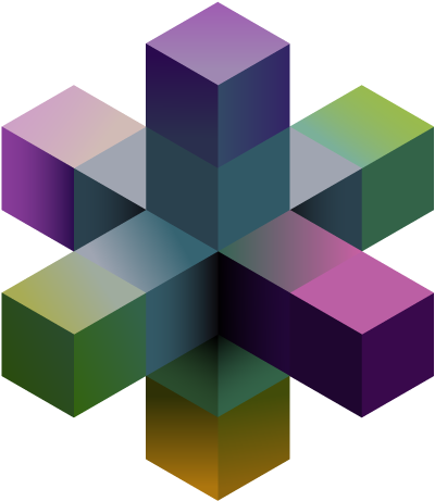 Purple network icon