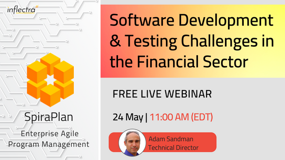 Free Webinar December 16th Developing >> Events And Conferences By Inflectra
