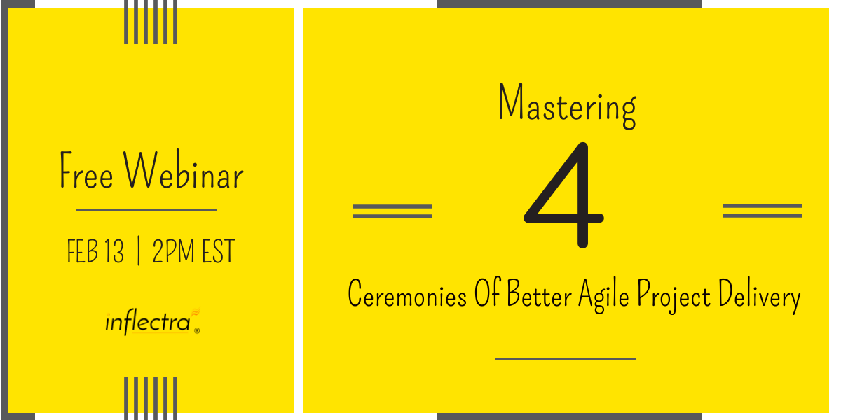Free Webinar Mastering Four Ceremonies Of Better Agile Project