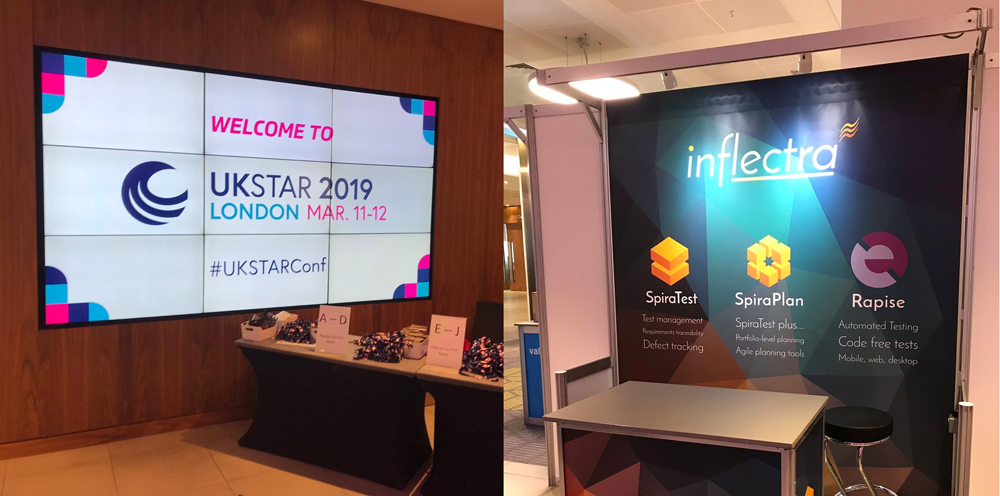 Recap: #UKSTAR and Swiss Testing Day 2019 - Inflectra Meets