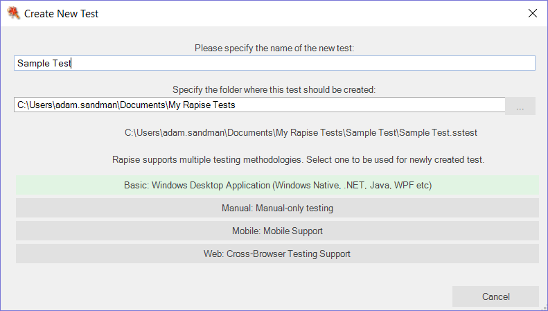 How to Check if Rapise Can Test My Delphi Application - KB33